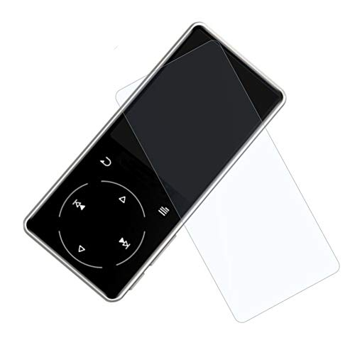 Protezione dello schermo 2 PZ Trasparente Facile Pulire Accessori Vetro Temperato Ultra Sottile Pellicola Completa Copertura Anteriore Liscia Antipolvere Anti Scratch Lettore MP3 Per SOULCKER D16