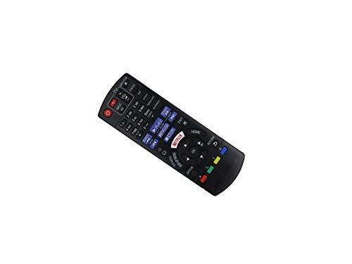 Controle remoto de substituição HCDZ para Panasonic DMP-BD81 DMP-BD81PU DMP-BD81GA DMP-BD81GC DMP-BD81GN DMP-BD81GT DMP-BD81EB-K DMP-BD81EG-K Smart Network 3D Blu-ray Disc Player