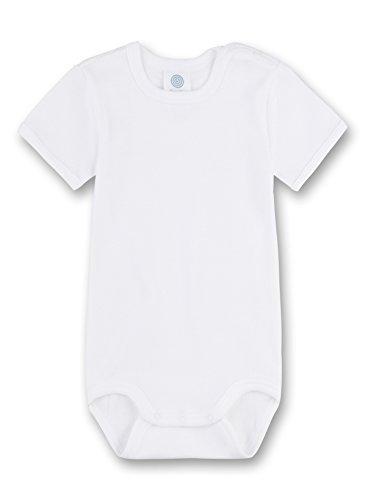 Sanetta Sanetta 320500 Unisex - Baby Babykleidung/ Unterwsche/ Bodys, Gr. 56 Wei