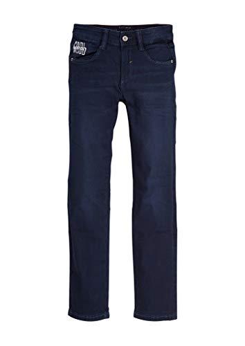 s.Oliver Jungen 61.909.71.3355 Jeans, Blau (Blue Denim Stretch 57z5), 140 (Herstellergröße: 140/REG)