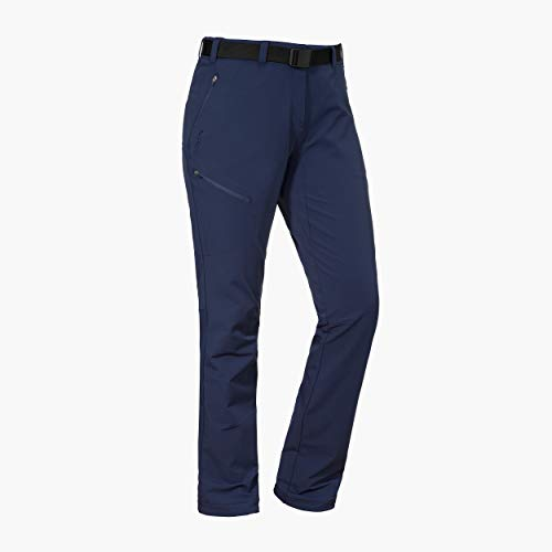 Schöffel Damen Pants Vantaa2 warme und robuste Wanderhose mit höchstem Tragekomfort, kuschelige und wasserabweisende Outdoor Hose