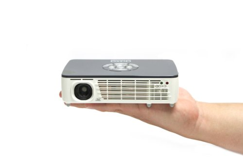 AAXA P450 Pico/Micro Projector with LED, WXGA 1280x800 Resolution, 450 Lumens, Pocket Size, HDMI, Mini-VGA, 15,000 Hour LED Life, Media Player, DLP Projector