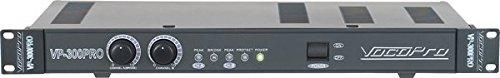 VocoPro VP-300 PRO Single Space 300W Professional Power Amplifier