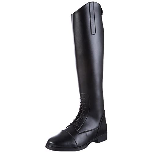 HKM, Reitstiefel -New Fashion-, Damen Lang, Stivali da equitazione, Donna, Nero, 37 EU