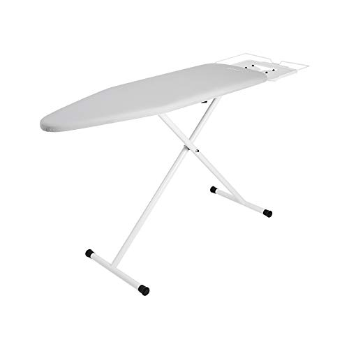 """Reliable 60IB Home Ironing Board - 15"""" x 47"""" Iron Board Made with Heavy-Duty Tube Frame Construction, Portable Ironing Board Made in Italy, 7 Height Adjustment and Latch Hook Locking, Strong Iron Rest"""
