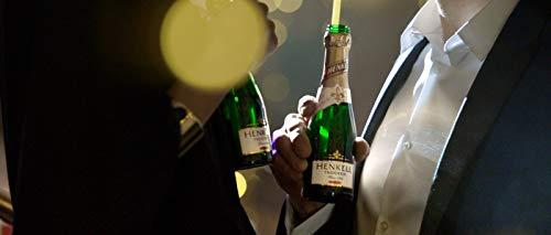 Henkell Feiner Sekt, Trocken, 11,50% Alkohol (12 x 0,2l Flaschen) – Chardonnay-Cuvée in handlicher Piccoloflasche - 5