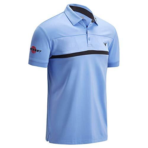 Callaway Herren Tour Polo Shirt L Kornblume (Blau)