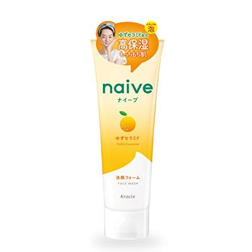 Naive Kracie New Face Wash 130g - Sea Mud Extract (Green Tea Set)