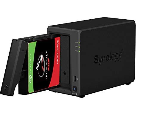 Preisvergleich Produktbild Synology DS720+ 6 GB Syno NAS 20 TB (2 x 10 TB) Seagate IronWolf