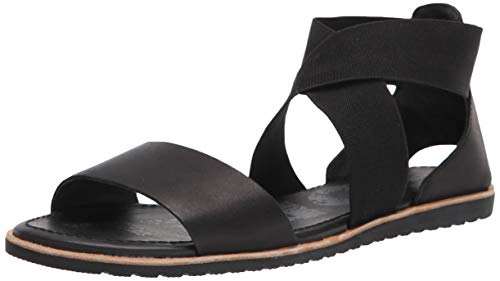 Sorel Women's Ella Casual Sandal, Black 8.5