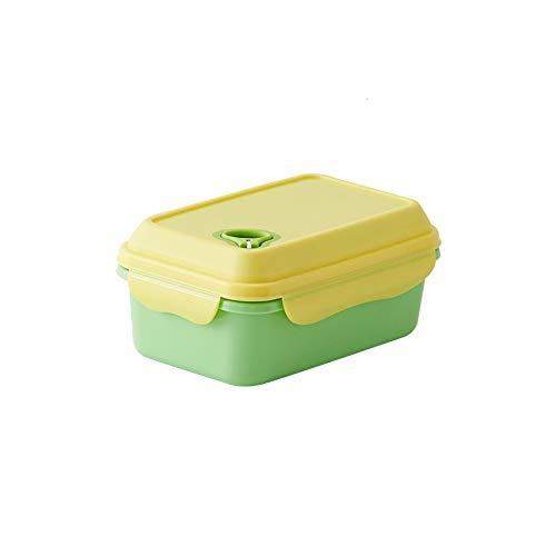 LHTCZZB Aspirateur portable étanche Boîte de rangement avec couvercle PP Matériel de fruits frais et de légumes Boîte Adapté for Réfrigérateur Micro-ondes Chauffage alimentaire Bento Box (Violet)