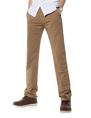 Demon&Hunter 900X Clásico-Fit Series Hombre Chinos Pantalones