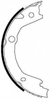 TEXTAR Bremsbackensatz für Feststellbremse, 91068500