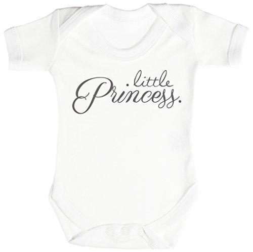 Baby Buddha Little Princess. Body bébé - Gilet bébé - Body bébé Ensemble-Cadeau - Naissance Blanc