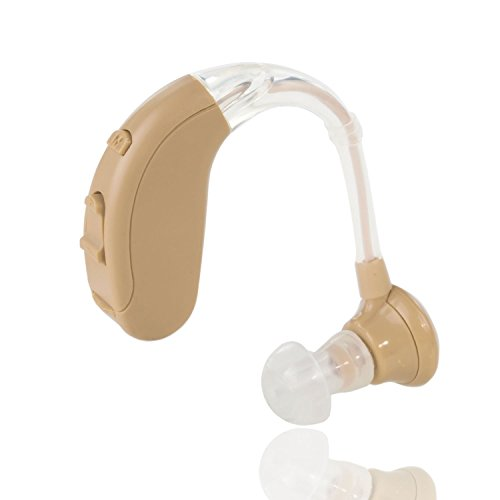 Digital-Hörverstärker, kleine und leichte Sound-Verstärker, 10 Tage Batterielaufzeit, einstellbar für linkes und rechtes Ohr