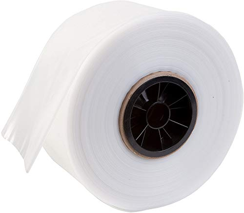 Premium Poly Tubing 2' W X 2900' L - 1.5 mil - 1 Roll - Clear Plastic Poly Tube for Bags - High Clarity Polyethylene (2 Inch Width x 2900 Feet Length)