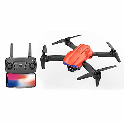 Faltbare RC Drohne mit 4K Dual-Kameras - GPS Drohnen-Quadkopter 20 Minuten Flugzeit, 30km FHD Transmission (FCC) mit WiFi FPV Live Übertragung, Handy gesteuert
