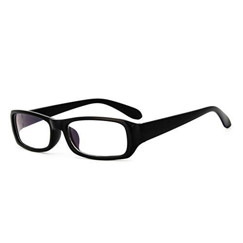 ZZALLL Blaulicht blockierende Computerbrille Studenten Classic Square Frame Brille Anti-Ermüdung Unisex