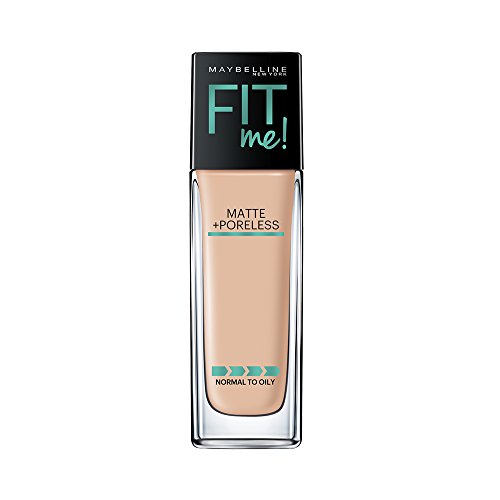 Maybelline New York Fit Me Matte+Poreless Liquid Foundation, 120 Classic Ivory, 30ml