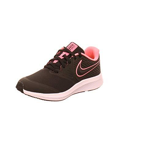 Nike Star Runner 2 (GS), Scarpe da Atletica Leggera, Multicolore (Black/Sunset Pulse/Black/White 2), 40 EU