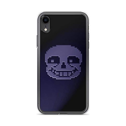 Beamm-Frost Compatible with iPhone XR Case Undertale Roles American Indie Game Pure Clear Phone Cases Cover
