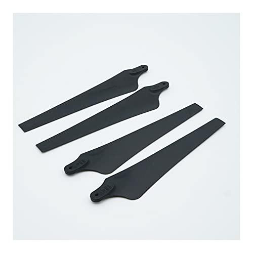 GEBAN 4 Piezas Cámara Drone Accesorios RC para Tarot 1555 Hoja De Hélice Plegable DIY Piezas De Cuadricóptero Plástico Negro Piezas UAV (Color : 1555 Prop 4 pcs)