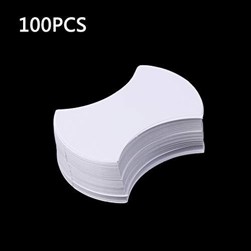 Ycncixwd 100Pcs Core Inglés Plantillas de acolchado de papel Patchwork Costura Artesanía DIY