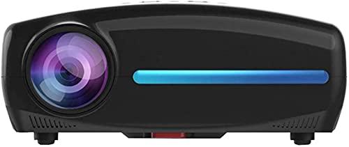 WEDF Proyector de Video de Cine en casa Android 9.0 HD 1080P Incorporado, Compatible con película Multimedia 4K HDMI USB PC