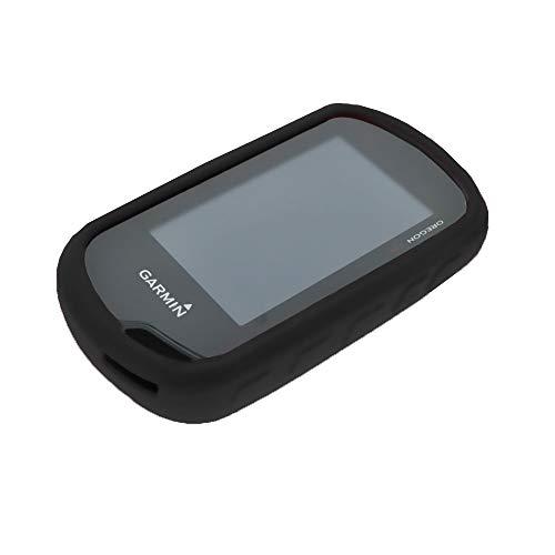 subtel® Schutzhülle kompatibel mit Garmin Oregon (600, 600t, 650, 650t, 700, 750, 750t) Silikon Backcover Tasche Cover Case Etui schwarz