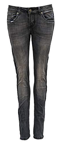 Blue Monkey Jeans, Damen, Honey BM-10025, Grey/Silver Thin Tape (W26/L34)