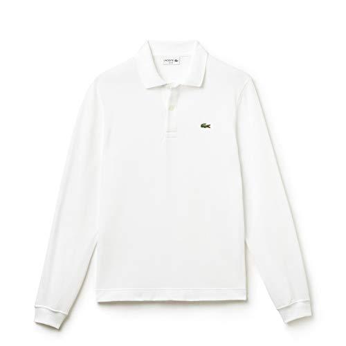Lacoste Herren PH4013 Poloshirt, Blanc, M