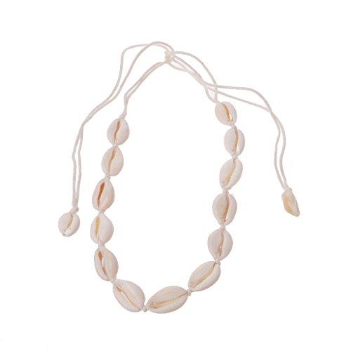VEED Summer Beach Natural Shell Handmade Hawaii Wakiki Boho Choker Necklace For Women