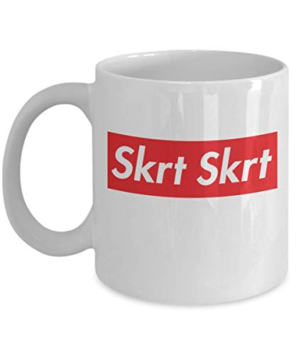 Coffee Mug 11 Oz Ceramic White Skrt Skrt Tory Lanes Skrt Skrt Supreme Box Logo Dad Merchandise Accessories Shirt Poster Sticker Pin Vinyl Decal