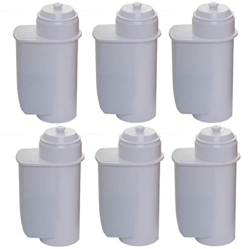 EcoAqua Lot de 6 filtres à eau pour Bosch VeroBar Siemens EQ3 EQ5 EQ6 EQ8 +9 compatible Brita Intenza
