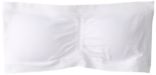 Maidenform Girls' Seamfree Bandeau (Little Big Kids), White, Small