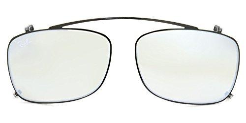 【Ray-Ban国内正規品販売認定店】RX5228C 2509B8 55サイズ Ray-Ban (レイバン) サングラス クリップオン CLIPON 前掛け 前かけ RX5228 ミラー メンズ レディース