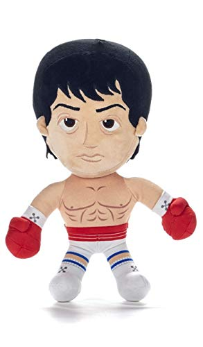 WHL Rocky-Rocky, Peluche Clubber Lang, Apollo Creed, Ivan Drago, Rocky Balboa, 30 CM(12') - Licencia Oficial (Rocky Balboa)