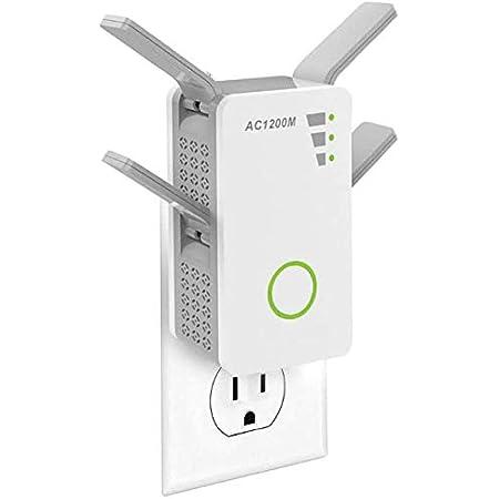 Repetidor WiFi, AC 1200Mbps Extensor WiFi, Amplificador Wifi ...