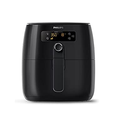 Philips HD9641/96 Avance Digital Turbostar Airfryer (1.8lb/2.75qt), Black Digital