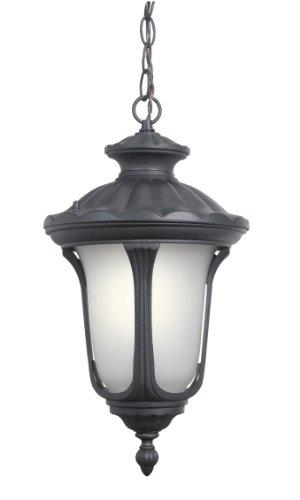 Woodbridge Lighting 61025WL-BKP Outdoor Light, Powder Coat Black