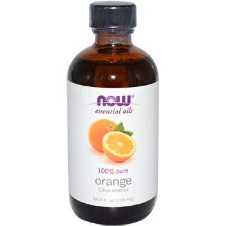 寺院競争性差別NOW Foods - オレンジオイル - 4ポンド