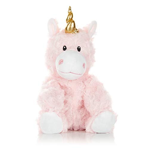 Warm Pals Microwavable Lavender Scented Plush Toy Stuffed Animal - Princess Unicorn