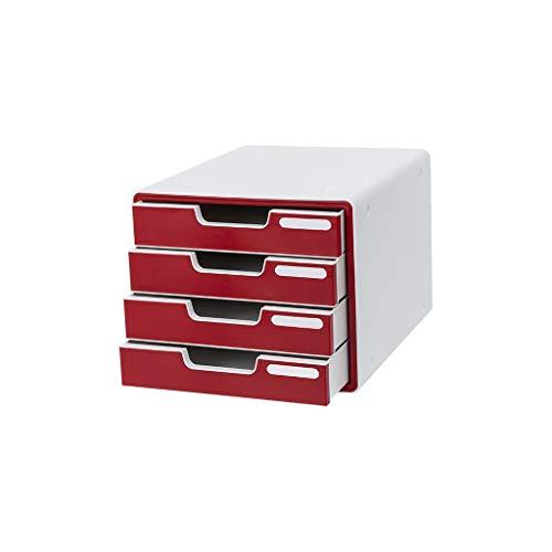 Preisvergleich Produktbild Aktenschränke Office-Dateispeicherschrank Kunststoff Desktop Schubladen Erweiterung 29 × 34 × 24cm (Color : A,  Size : 29×34×24CM)