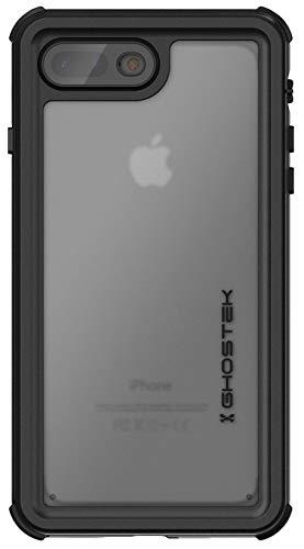 Ghostek Nautical iPhone 7 Plus, iPhone 8 Plus Waterproof Case with Screen Protector Built-in Heavy Duty Protection Full Body Underwater Watertight Seal iPhone 7 Plus, iPhone 8 Plus (5.5 Inch) - Black