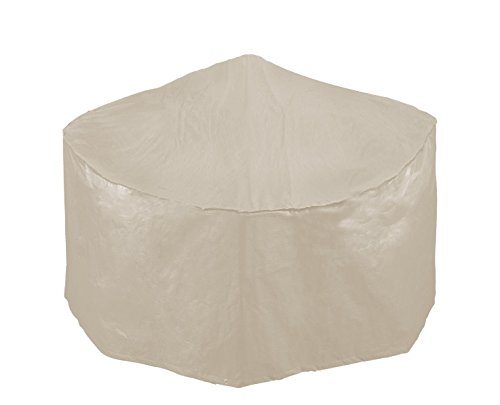 Bosmere R560 Simply Cover Barley (Beige) Small Round Fire Pit Cover