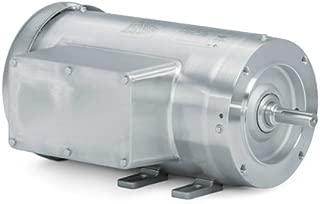 Baldor Electric Company CFSWDL3506 - Foot Mounted AC Washdown Motor-Food Safe - General Purpose Motor - (Stainless Steel), 1 ph, 3/4 hp, 3600 rpm, 115/230 V, 56C Frame, TEFC Enclosure