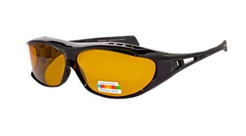 Rainbow Safety - Gafas de sol polarizadas para hombre, gafas de sol para moto RWN20-SUN-CAT2