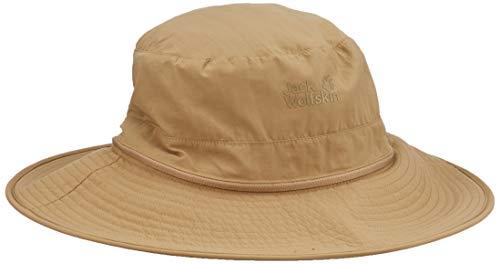 Jack Wolfskin Unisex Lakeside Mosquito Chapeau Strickmütze, (Sand Dune), (Herstellergröße: Large)