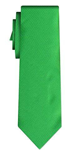 Cravate unie solid grass green VII