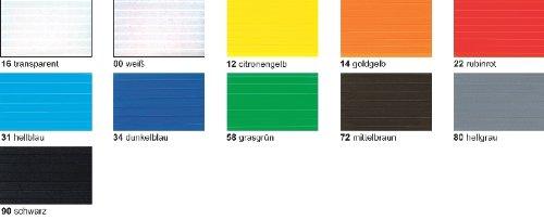 Bastel - Stegplatten 23x33CM,10PL.SCHWARZ
